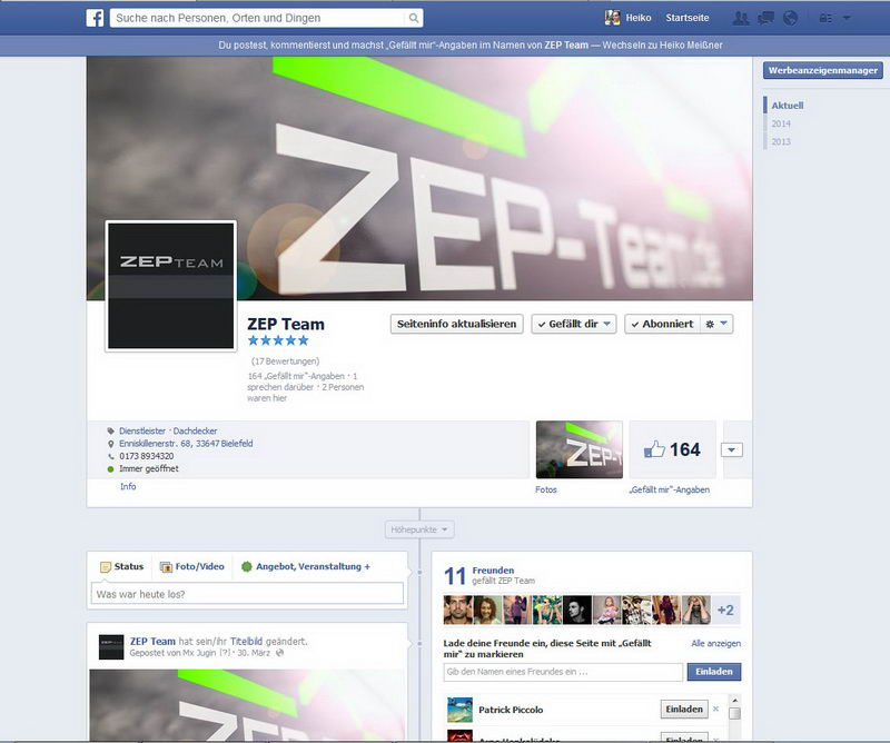FB: ZEP-Team